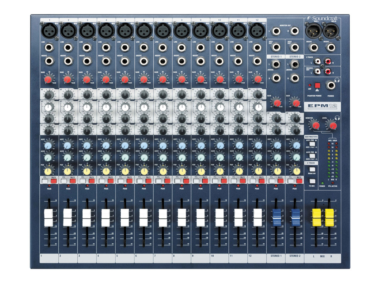SoundcraftEFX12